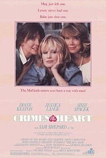 <i>Crimes of the Heart</i> (film) 1986 film directed by Bruce Beresford
