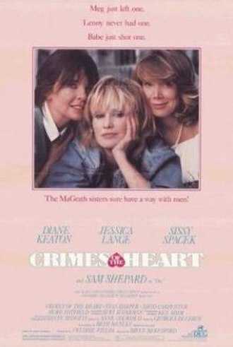 Crimes of the Heart (film) - Theatrical release poster