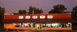 Kansas City-style barbecue - Curt's Famous Meats storefront
