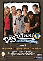 Degrassi: The Next Generation season 6 DVD digipak