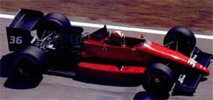 Dallara 3087 - Image: Dallara 3081 Formula One Brazil 1988
