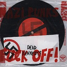 Something is. Dead kennedys fuck off variant, yes