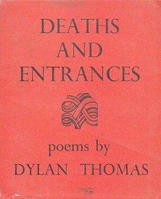 Deaths and Entrances - First edition (publ. J. M. Dent)
