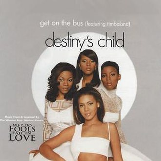 Destiny's Child featuring Timbaland — Get on the Bus (studio acapella)