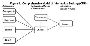 Comprehensive Model of Information Seeking - The Comprehensive Model of Information Seeking