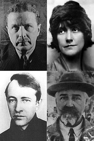 Davenport Group - Clockwise: Glaspell; Cook; Dell; Ficke