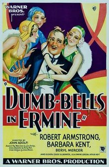 Dumbbells In Ermine 1930 Poster.jpg