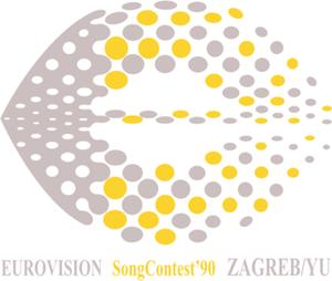 Eurovision Song Contest 1990 - Image: ESC 1990 logo