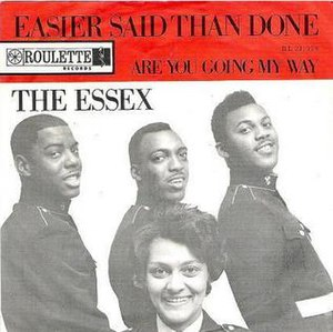 Easier Said Than Done - Image: Easier Said Than Done The Essex