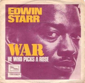War (The Temptations song) - Image: Edwin starr war single 1970
