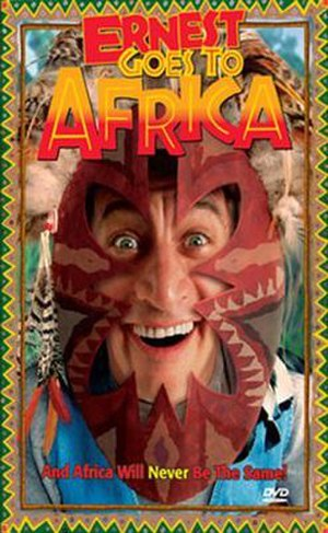 Ernest Goes to Africa - DVD Cover
