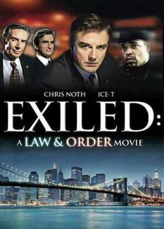 Exiled: A Law & Order Movie - Region 1 U.S. DVD Cover