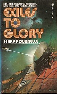 <i>Exiles to Glory</i> Science fiction novella by Jerry Pournelle