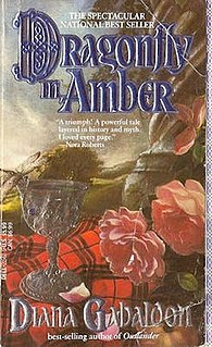 <i>Dragonfly in Amber</i> book by Diana Gabaldon