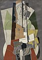 Georges Braque, 1917, La Joueuse de mandoline, oil on canvas, 92 × 65 cm, Lille Métropole Museum of Modern, Contemporary and Outsider Art.jpg