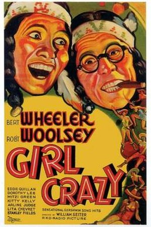 Girl Crazy (1932 film) - Image: Girl Crazy Film Poster