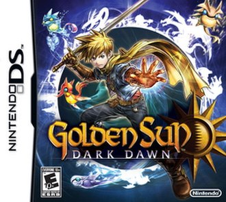 Golden Sun: Dark Dawn - North American box art