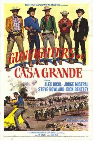 Gunfighters of Casa Grande - Image: Gunfighterscasa