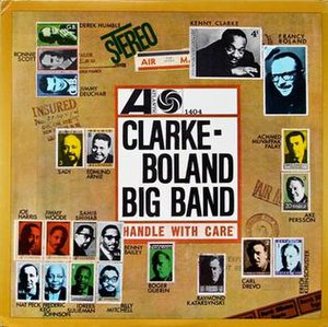 Handle with Care (Clarke-Boland Big Band album) - Image: Handle with Care (Clarke Boland Big Band album)
