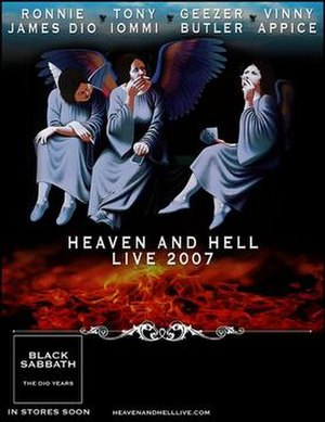 Heaven and Hell 2007 Tour - Image: Heaven and Hell tour poster