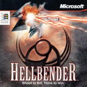 Hellbender (video game) - Image: Hellbendercover