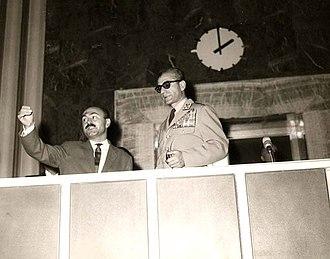 Heydar Ghiai - Image: Heydar Ghiai and the Shah of Iran (1963)