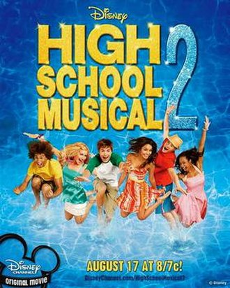 High School Musical 2 - Promotional poster