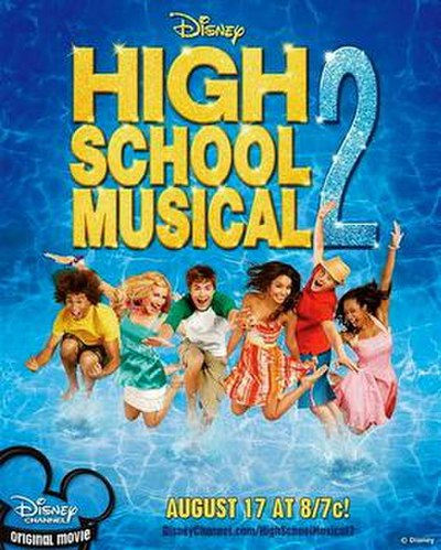 Picture of a movie: High School Musical 2