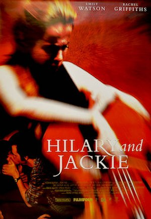 Hilary and Jackie - US poster for the film