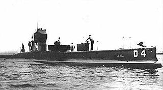 HMS <i>D4</i> D-class submarine