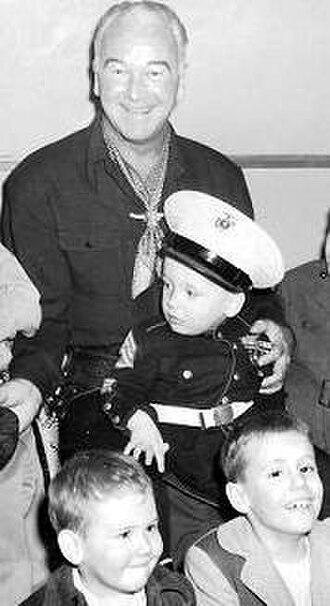 William Boyd (actor) - Boyd in Chicago, circa 1950