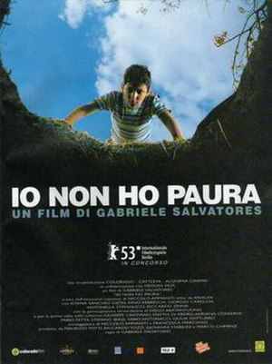 I'm Not Scared - Italian release poster