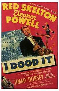 <i>I Dood It</i> 1943 musical-comedy film directed by Vincente Minnelli