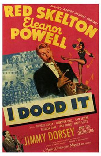 I Dood It - theatrical poster