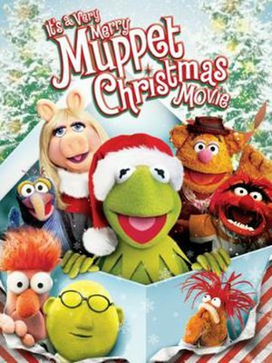 It's a Very Merry Muppet Christmas Movie - DVD cover