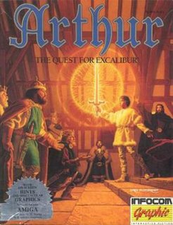 <i>Arthur: The Quest for Excalibur</i> 1989 video game
