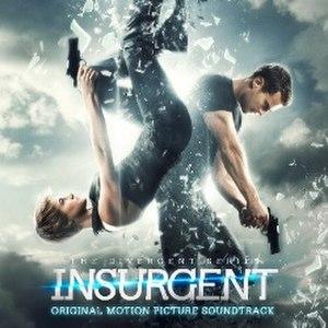 The Divergent Series: Insurgent – Original Motion Picture Soundtrack - Image: Insurgent soundtrack cover