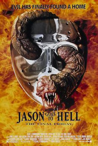 Jason Goes to Hell: The Final Friday - Theatrical release poster
