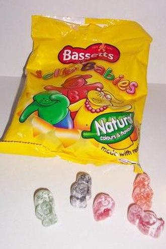 Jelly Babies - Bassett's jelly babies