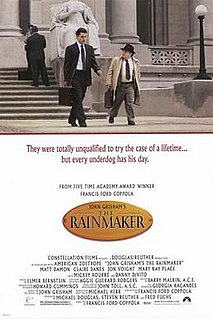 <i>The Rainmaker</i> (1997 film) 1997 film by Francis Ford Coppola