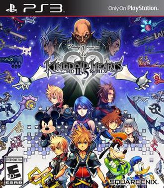 Kingdom Hearts HD 2.5 Remix - Image: KH HD 2.5 Re MIX NA Boxart