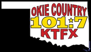 KTFX-FM - Image: KTFX Okie Country 101.7 logo