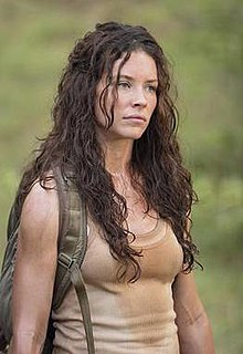 Kate Austen character from the American mystery fiction television series Lost