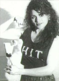 Katherine Monbiot English arm wrestler, 1993 WAF World Championships winner for 55kg women