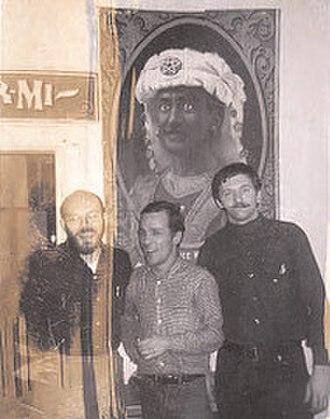 East Village Other - Allen Katzman, Bill Beckman and Walter Bowart in the EVO office.