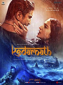 Image result for Kedarnath Poster