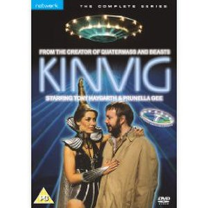 Kinvig - The original DVD cover with Kinvig and Miss Griffin