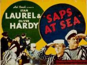 Saps at Sea - Image: L&H Saps at Sea 1940