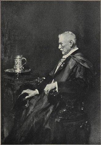 Wesley College (Victoria) - Mr L.A Adamson (former Headmaster)