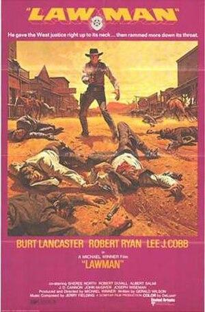 Lawman (film) - film poster by Frank McCarthy